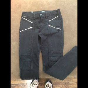Citizens of Humanity Skinny Moto Black Denim Jean